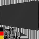 infratopení heatwell, bezrámové sklo, černé