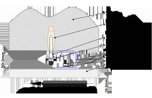instalace infrapanelu na strop - infratopení je velmi snadné pro instalaci